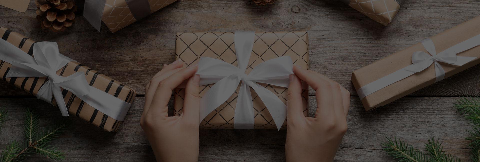 Pensez à vos boîtes cadeaux